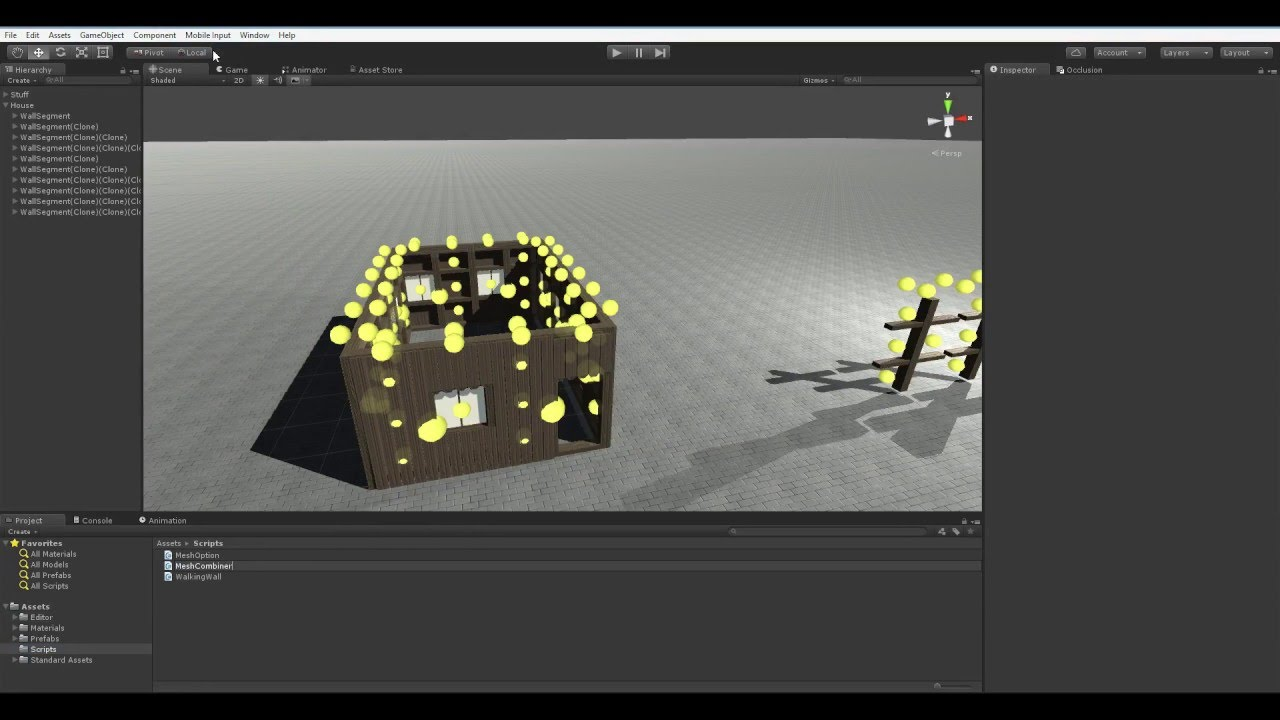 Creating in Unity #5: Combining Meshes!
