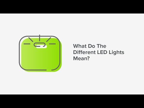 What Do The Different LED Lights Mean?