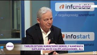 Tarlós István Karácsony Gergely kampánya gátlástalan és valótlanságokból áll