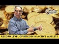 Bitcoin in Active Wallets Is Aproaching Record Highs