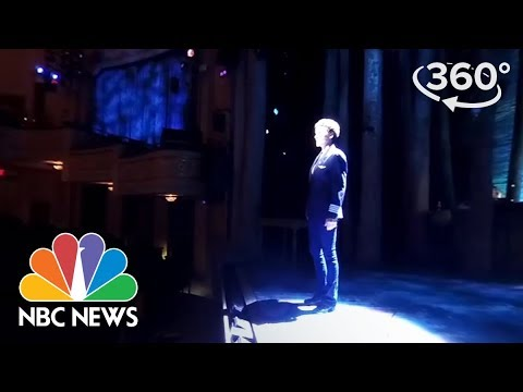 "360 Video: On-Stage At Broadway's ""Come From Away"" 