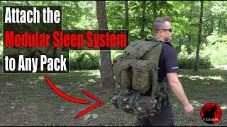 Modular Sleep System Molle II Sleep System Carrier