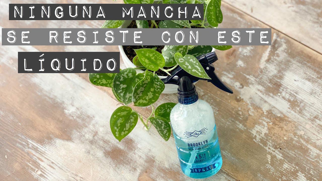 QUITA MANCHAS SÚPER POTENTE haz tus propios productos de limpieza 🧹