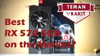 VGA Mid Range terbaik? | Sapphire RX 570 Nitro+ Review and Benchmark | Indonesia