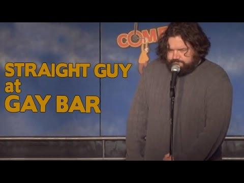 Straight Guy at Gay Bar - Comedy Time