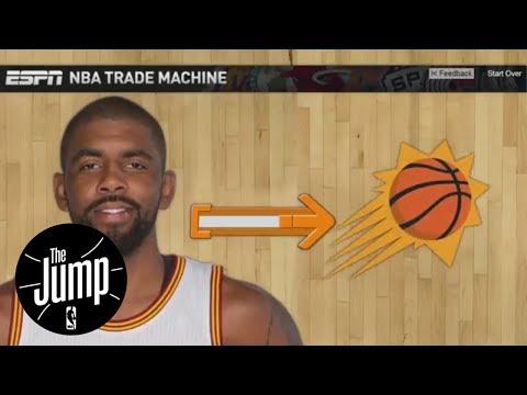 Kyrie Irving NBA Trade Machine Scenarios   The Jump   ESPN
