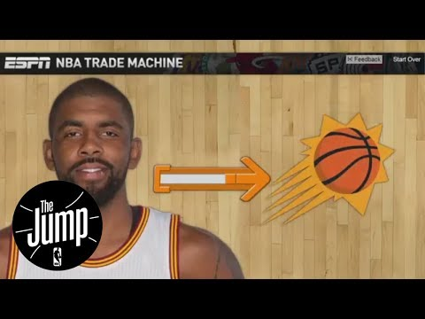 Kyrie Irving NBA Trade Machine Scenarios | The Jump | ESPN