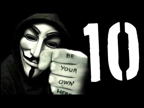 10 spektakularnych akcji Anonymous [TOPOWA DYCHA]
