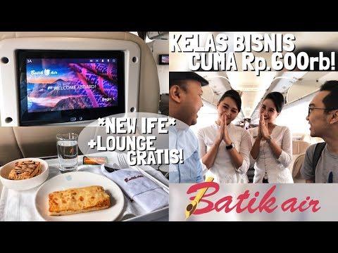 Batik Air Kelas Bisnis Terjangkau! ID8710 Jakarta ke Lampung (Feat. Rahmat Dhani)