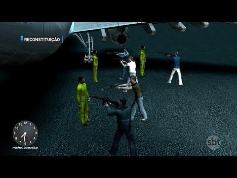 Aumento do número de crimes 'de cinema' preocupa polícia de SP | Primeiro Impacto (09/03/18)