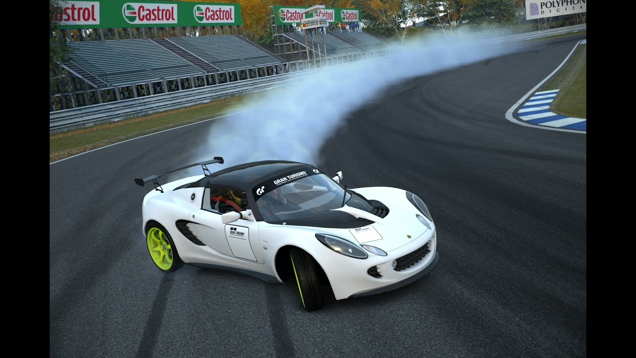 Drift Lotus Elise Race Car Youtube