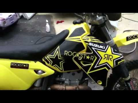 Rockstar Graphics On A Suzuki DRZ