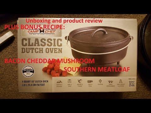 """Unboxing the Camp Chef 10"""" Dutch Oven +PLUS BONUS RECIPE!"""