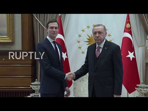 Turkey: Jared Kushner meets with Erdogan in Ankara