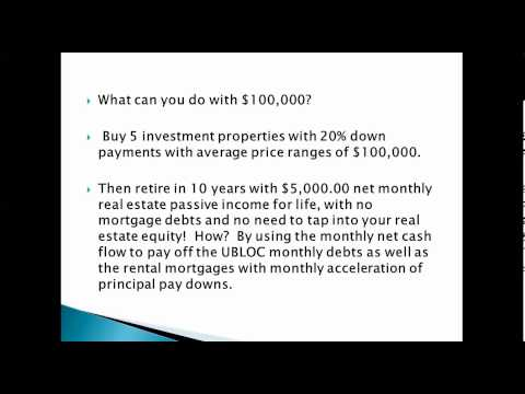 How to Use Unsecured Business Lines of Credit to Buy Real Estate, 03.28.13