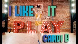 CARDI B, BAD BUNNY & J BALVIN - I LIKE IT | Choreography by @NikaKljun