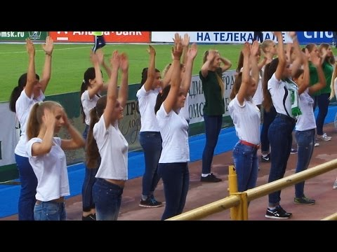 Видео, Урок движения. Флешмоб в поддержку футбольной команды Томь