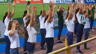 Урок движения. Флешмоб в поддержку футбольной команды