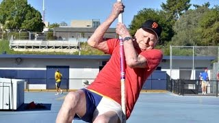 100-Year-Old Breaks Five World Records at Senior Olympics
