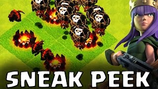 NEW LVL 4 LAVA HOUND, LVL 7 BALLOON and MORE   Sneak Peek #1   Clash of Clans