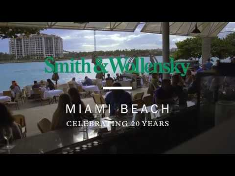 Smith & Wollensky Miami Beach Celebrates 20 Years & Renovation Relaunch