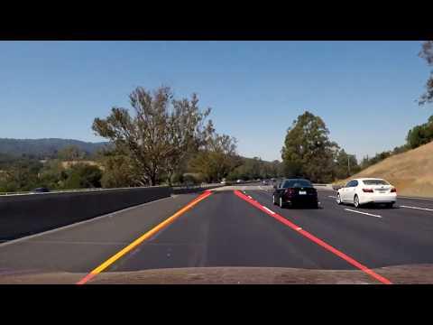Udacity's self-driving car engineer: Finding lane lines (challenge)