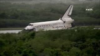 STS-119 Discovery Landing on Kennedy Space Center Florida March 28th 2009 [HD]