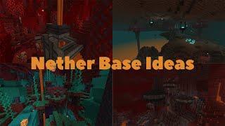 Nether Base Ideas - Minecraft