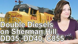 Union Pacific Double Diesels on Sherman Hill - DD35, DD35a, DDA40X Diesels