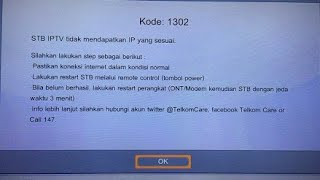 Download Video Cara mengatasi gagal masuk tv indihome/Useetv (STB) MP3 3GP MP4