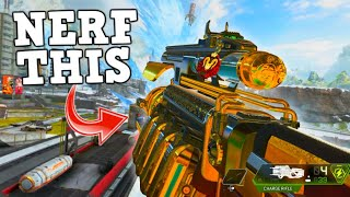 NERF THE CHARGE RIFLE.. BUFF THE LONGBOW! (Apex Legends)