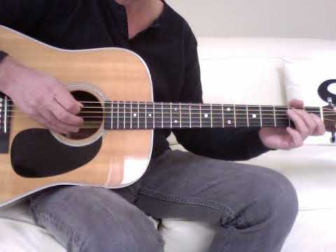 Robert Palmer - Johnny And Mary (Acoustic Guitar Lesson)