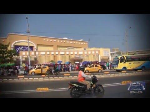 Clip de video - Inauguración Iglesia en Cartagena Colombia - IDMJI - María Luisa Piraquive