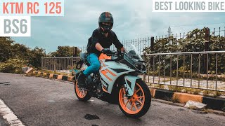 New KTM RC 125 Bs6 2020 Ride Review | The Smallest Superbike