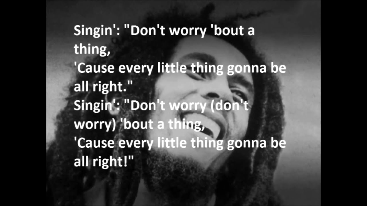 Song everything is going to be alright lyrics