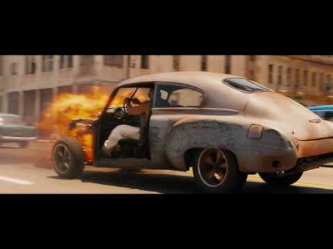 Fast & Furious 8 | Film Clip | Dom's Car Bursts Into Flames