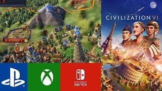 Civilization VI Consoles The Basics! (Civilization VI Xbox, PS4, Switch)