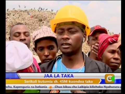 THE GARBAGE MENACE,NAIROBI