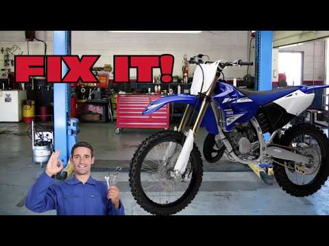 Yamaha YZ125 Bogs, Hesitates When Accelerating