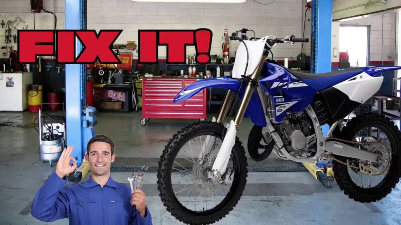 Yamaha YZ125 Bogs, Hesitates When Accelerating