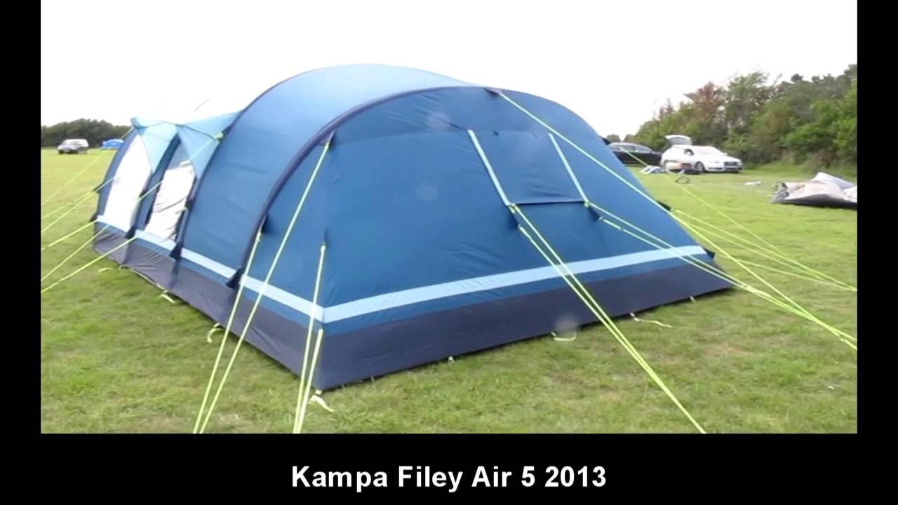 K&a Filey 5 Air  sc 1 st  YouTube & Kampa Filey 5 Air - YouTube