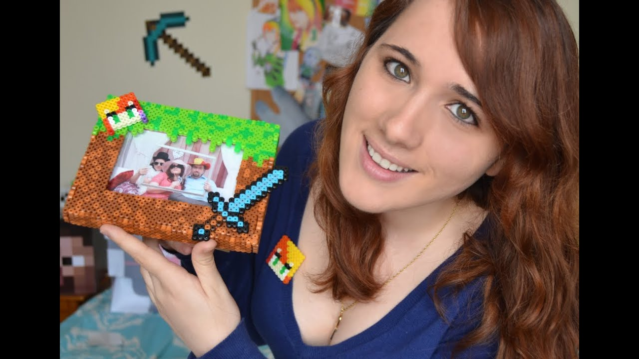 ♥¡Nia´s Crafting!♥ - Marco Minecraft HAMA BEADS