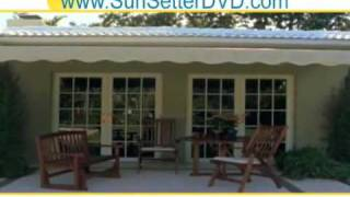 Pennsylvania- Freestanding Tent Retractable Patio Awnings