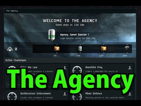 🔴LIVE The Agency - EVE Online Live Presented in 4k