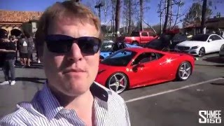 Race prepped Ferrari 458 on Shmee 150