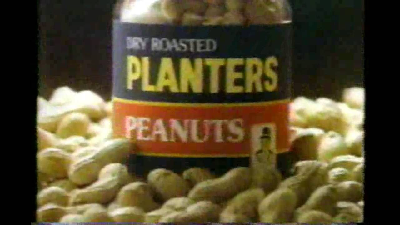 Christmas Planters Peanuts.Planters Peanuts Commercial From The 80 S