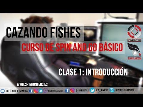 CAZANDO FISHES 🐟🐟 INTRODUCCIÓN - Curso de SPIN AND GO BÁSICO
