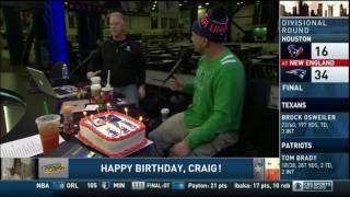 Boomer and Carton - Craig's 48th Birthday - Cake