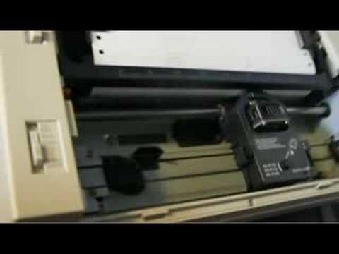 wep dot matrix printer drivers for windows 7