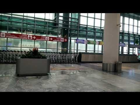 Hato typhoon. 23 aug 2017 (Macau airport). Signal +10.